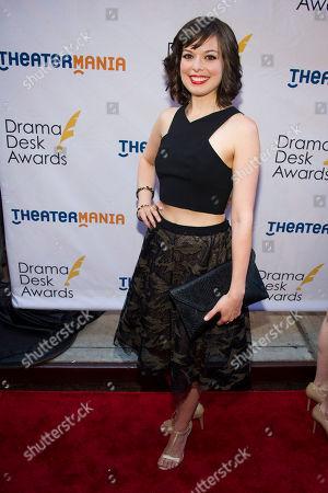 Margo Seibert attends the Drama Desk Awards on in New York