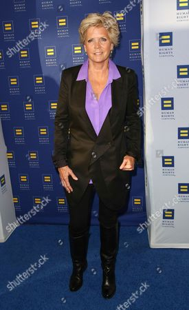 Meredith Baxter arrives at the 2014 Human Rights Campaign Los Angeles Gala, on in Los Angeles, California