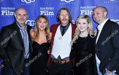 Editorial photo of 2014 International Film Festival - Montecito Award, Santa Barbara, USA