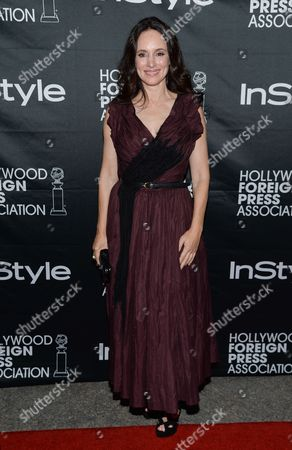 Actress Madeleine Stowe attends the Hollywood Foreign Press Association and InStyle party at the Windsor Arms Hotel during the Toronto International Film Festival, in Toronto