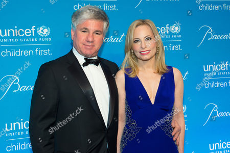 Sylvester Miniter (L) and Gillian Miniter attend the Tenth Annual UNICEF Snowflake Ball at Cipriani Wall Street, in New York
