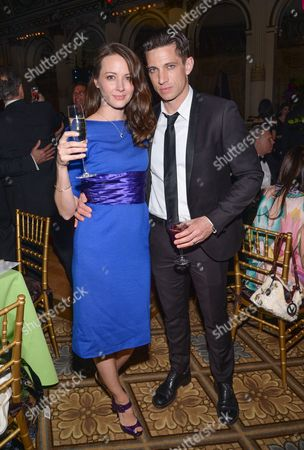 Actors Amy Acker and husband James Carpinello attend the 18th Annual ASPCA Bergh Ball at the Plaza Hotel, in New York