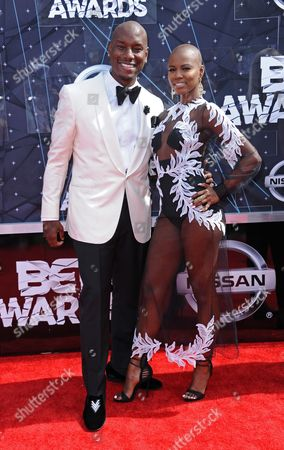Editorial picture of 2015 BET Awards - Arrivals, Los Angeles, USA