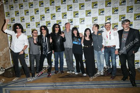 """Editorial photo of 2015 Comic-Con - """"Scooby-Doo! and KISS: Rock and Roll Mystery"""" Press Line, San Diego, USA"""