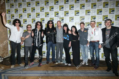 """Editorial picture of 2015 Comic-Con - """"Scooby-Doo! and KISS: Rock and Roll Mystery"""" Press Line, San Diego, USA"""