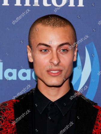 Cory Wade attends the 26th Annual GLAAD Media Awards at the Waldorf Astoria, in New York