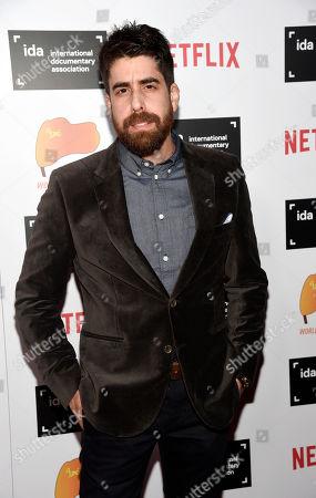 Actor Adam Goldberg at the 2015 IDA Documentary Awards at Paramount Studios, in Los Angeles