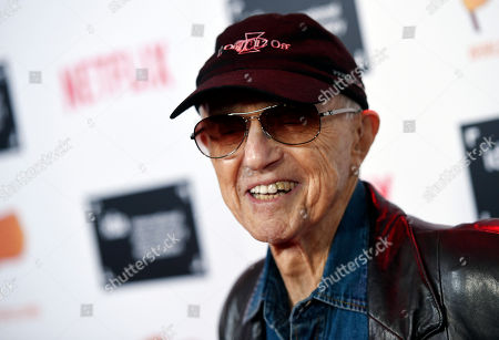 Stock Photo of Cinematographer Haskell Wexler poses at the 2015 IDA Documentary Awards at Paramount Studios, in Los Angeles