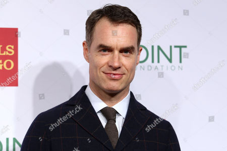 """Murray Bartlett attends the Point Foundation's """"Point Honors 2015 New York Gala"""" at The New York Public Library, in New York"""