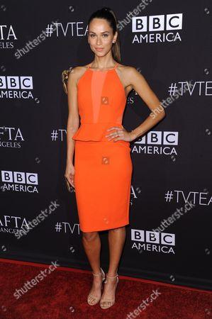 Stock Photo of Model/TV host Asha Leo arrives at the BAFTA Los Angeles TV Tea at SLS Hotel, in Los Angeles
