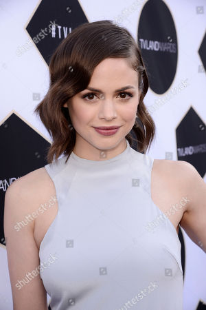 Conor Leslie arrives at the TV Land Awards at the Saban Theatre, in Beverly Hills, Calif
