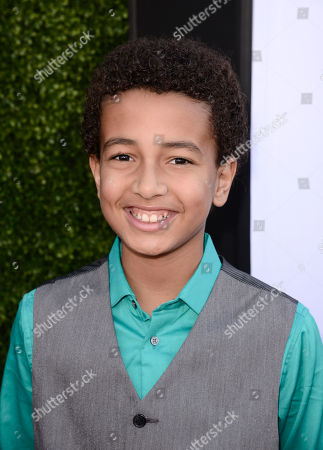 Tyree Brown arrives at the TV Land Awards at the Saban Theatre, in Beverly Hills, Calif