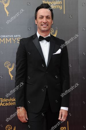 Stephen Full arrives at night one of the Creative Arts Emmy Awards at the Microsoft Theater, in Los Angeles