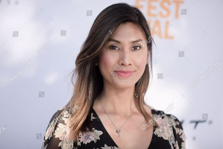 """Rain Valdez attends the premiere of """"Free CeCe"""" held at ArcLight Cinemas, in Culver City, Calif"""