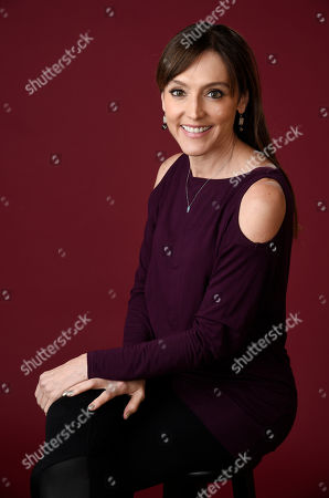 """Nancy M. Pimental, executive producer of the Showtime series """"Shameless,"""" poses for a portrait during the 2016 Television Critics Association Summer Press Tour at the Beverly Hilton, in Beverly Hills, Calif"""