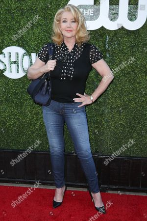 Melody Thomas Scott arrives at the Summer TCA CBS, CW, Showtime Party at Pacific Design Center, in West Hollywood, Calif