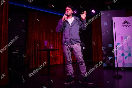 Ben Gleib performs on board the Norwegian Escape during day 1 of the Summit at Sea cruise on in Miami