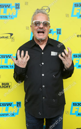 """Mark Mothersbaugh attends the world premiere of """"Pee-wee's Big Holiday"""" during the South by Southwest Film Festival, in Austin, Texas"""