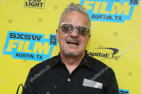 """Stock Photo of Mark Mothersbaugh attends the world premiere of """"Pee-wee's Big Holiday"""" during the South by Southwest Film Festival, in Austin, Texas"""