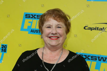 """Lynne Marie Stewart attends the world premiere of """"Pee-wee's Big Holiday"""" during the South by Southwest Film Festival, in Austin, Texas"""