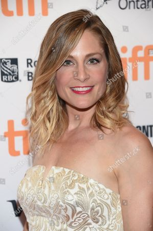 Actress Tara Spencer-Nairn attends the TIFF Soiree, an annual fundraiser and celebratory kick-off for the 2016 Toronto International Film Festival, at the TIFF Bell Lightbox, in Toronto