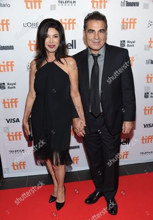 Actress Shohreh Aghdashloo, left, and husband Houshang Touzie attend the TIFF Soiree, an annual fundraiser and celebratory kick-off for the 2016 Toronto International Film Festival, at the TIFF Bell Lightbox, in Toronto