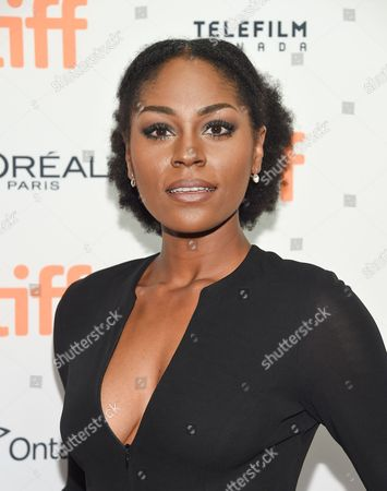 Actress Somkele Iyamah-Idhalama attends the TIFF Soiree, an annual fundraiser and celebratory kick-off for the 2016 Toronto International Film Festival, at the TIFF Bell Lightbox, in Toronto