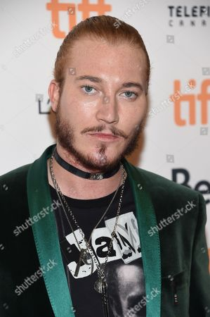 Adam Moryto attends the TIFF Soiree, an annual fundraiser and celebratory kick-off for the 2016 Toronto International Film Festival, at the TIFF Bell Lightbox, in Toronto