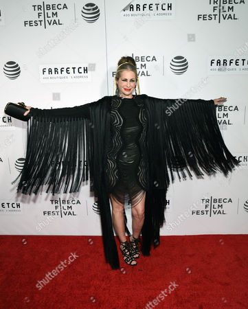 """Carmen Busquets attends the Tribeca Film Festival opening night world premiere of """"The First Monday in May"""" at John Zuccotti Theater at BMCC Tribeca Performing Arts Center, in New York"""