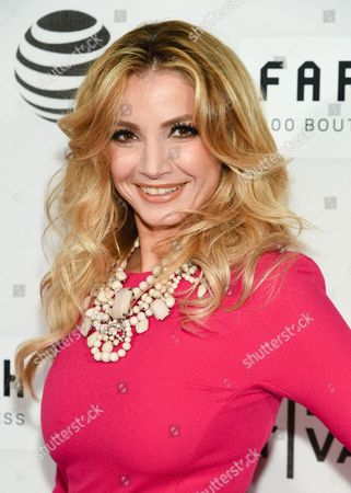 """Stock Image of Marina Arsenijevic attends the Tribeca Film Festival opening night world premiere of """"The First Monday in May"""" at John Zuccotti Theater at BMCC Tribeca Performing Arts Center, in New York"""