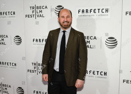 "Stock Image of Director Andrew Rossi attends the Tribeca Film Festival opening night world premiere of ""The First Monday in May"" at John Zuccotti Theater at BMCC Tribeca Performing Arts Center, in New York"