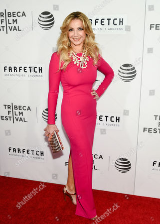 """Stock Photo of Marina Arsenijevic attends the Tribeca Film Festival opening night world premiere of """"The First Monday in May"""" at John Zuccotti Theater at BMCC Tribeca Performing Arts Center, in New York"""