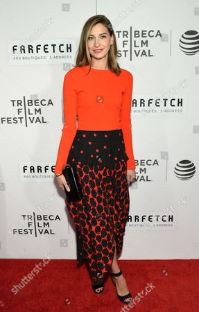 "Producer Sylvana Ward Durrett attends the Tribeca Film Festival opening night world premiere of ""The First Monday in May"" at John Zuccotti Theater at BMCC Tribeca Performing Arts Center, in New York"