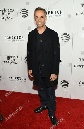 """Francisco Costa attends the Tribeca Film Festival opening night world premiere of """"The First Monday in May"""" at John Zuccotti Theater at BMCC Tribeca Performing Arts Center, in New York"""