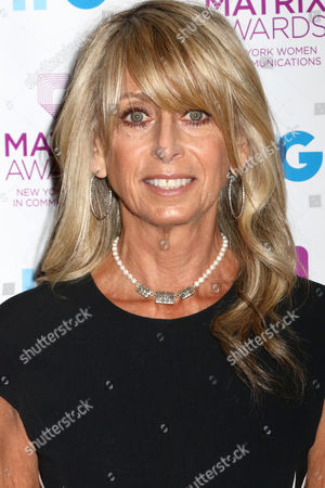 Stock Photo of Bonnie Hammer, Chairman NBCUniveral Cable Entertainment, attends the 2016 New York Women in Communications Matrix Awards at the Waldorf Astoria, in New York