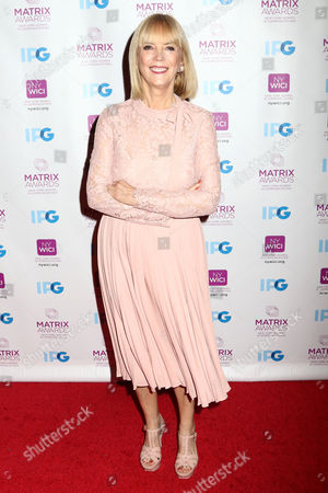 Carol Hamilton, Group President, L'Oreal Luxe USA, attends the 2016 New York Women in Communications Matrix Awards at the Waldorf Astoria, in New York