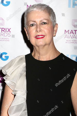 Stock Image of Debra Shriver, Chief Communications Officer, Hearst, attends the 2016 New York Women in Communications Matrix Awards at the Waldorf Astoria, in New York