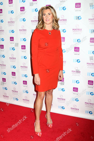 Honoree Nancy Dubuc, President and CEO of A+E Networks, attends the 2016 New York Women in Communications Matrix Awards at the Waldorf Astoria, in New York