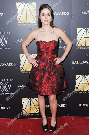 Actress Kelsey Reinhardt attends the 20th Annual Art Directors Guild Excellence In Production Design Awards held at the Beverly Hilton Hotel, in Beverly Hills, Calif