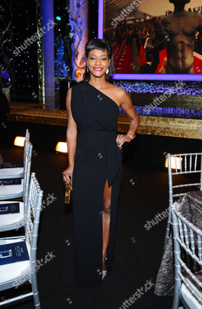 Sufe Bradshaw is seen in the audience at the 21st annual Screen Actors Guild Awards at the Shrine Auditorium, in Los Angeles
