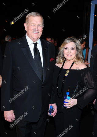 Ken Howard, left, and Linda Fetters in the audience at the 21st annual Screen Actors Guild Awards at the Shrine Auditorium, in Los Angeles