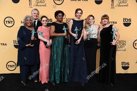Editorial image of 21st Annual SAG Awards - Press Room, Los Angeles, USA