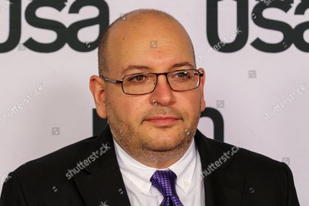 Jason Rezaian arrives at the 26th Annual Literary Awards Festival on Wed, in Beverly Hills, Calif