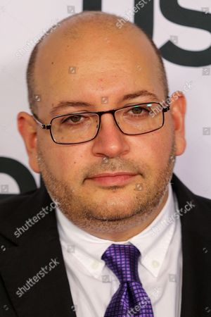 Stock Picture of Jason Rezaian arrives at the 26th Annual Literary Awards Festival on Wed, in Beverly Hills, Calif