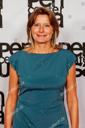 Jennifer Egan arrives at the 26th Annual Literary Awards Festival on Wed, in Beverly Hills, Calif