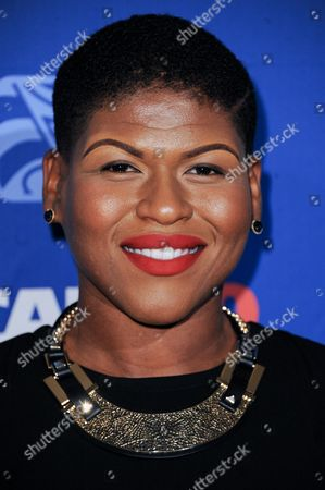 Stacy Barthe arrives at the 27th Annual ASCAP Rhythm & Soul Awards held at the Beverly Hilton Hotel, in Los Angeles