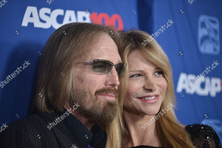 Stock Picture of Tom Petty, left, and Dana York arrive at the 31st Annual ASCAP Pop Music Awards at the Loews Hollywood Hotel, in Los Angeles