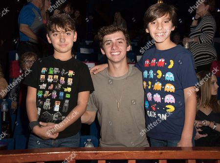 Mavrick Moreno-Center Mavrick Moreno, Center, and friends attend the screening of 'Annabelle Hooper and the Ghosts of Nantucket' at the 31st annual Fort Lauderdale International Film Festival at Savor Cinema on Friday, Nov.11, 2016 in Fort Lauderdale, Fla