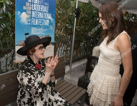 Stock Picture of Arlene Dahl, left, and Bailee Madison attend the 31st annual Fort Lauderdale International Film Festival at Savor Cinema on Friday, Nov.11, 2016 in Fort Lauderdale, Fla