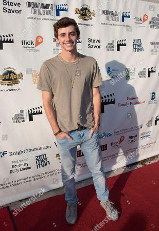 Mavrick Moreno arrives at the 31st annual Fort Lauderdale International Film Festival at Savor Cinema on Friday, Nov.11, 2016 in Fort Lauderdale, Fla